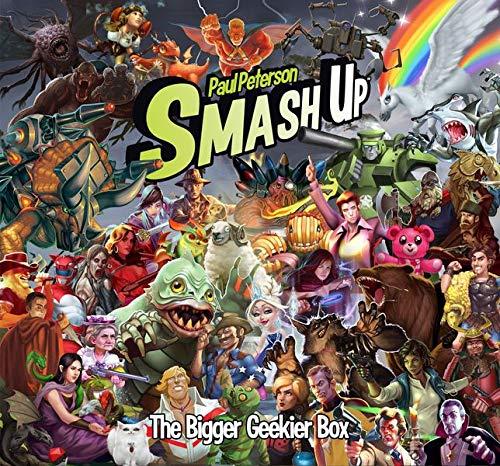 Alderac Entertainment ALD05515 Smash Up: The Bigger Geekier Box, Mehrfarbig