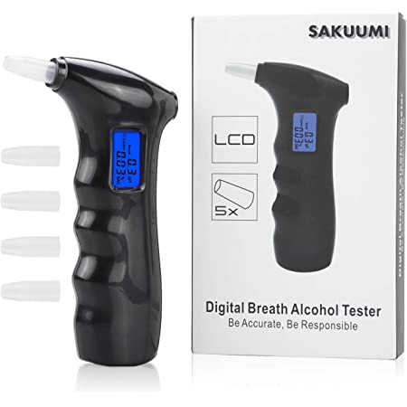0.5 and 0.8 see chart for every Country in EU EU France Certified Test Kits readouts for 0.0 0.2 10 x Alcohol Breathalyzer Breath Tester Kit