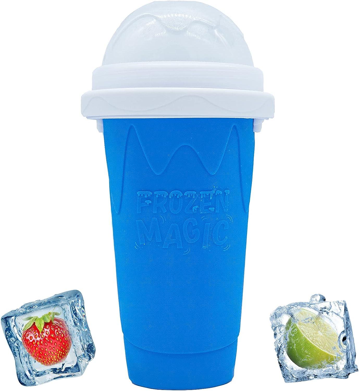 Magic Slushy Maker Squeeze Cup Milk Slushie Homemade Shak High order Import