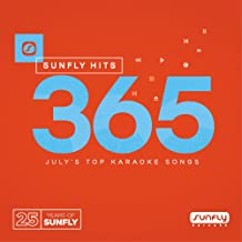Sunfly Karaoke Hits Vol. 365 CDG (CD+G) Disc