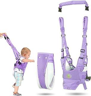 Bebé Caminar Arnés, Riendas para Caminar Seguridad Asistente Niños Andador Anti Perdido Correa,Púrpura