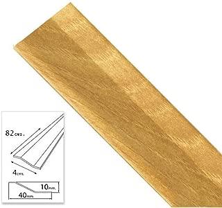 Wolfpack 2541045 Tapajuntas adhesivo para cerámica (aluminio, 82 cm) color roble