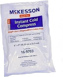 Instant Cold Pack Medi-Pak General Purpose 6 X 9 Inch Disposable - 24 Per Case