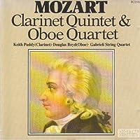 Clarinet Quintet, Oboe Quartet: Puddy(Cl) Boyd(Ob) Gabrieli Sq