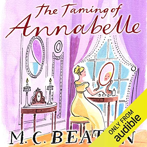 The Taming of Annabelle audiobook cover art