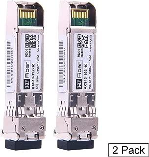 m/ódulo SFP+, Compatible con 10GBase-LR HP, Fibra de Vidrio, 1310nm, Modo LC Single con DDM M/ódulo transceptor J9151D-ST