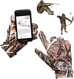DecoyPro Touchscreen Lightweight Hunting Gloves for Men...