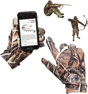 DecoyPro Touchscreen Lightweight Hunting Gloves for Men...