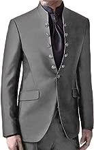 Setwell Latest Coat Pants Mandarin Collar Men Suits Formal Custom Tuxedo 2 Piece