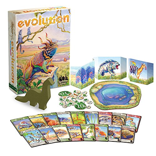 North Star Games Evolution Board Game | Every Game Becomes a Different Adventure!