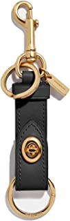 Coach Women`s Trigger Snap Refined Calf Leather Bag Charm