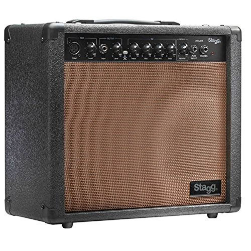 Stagg 15 AA DRUK 15 RMS W 15W Amplificador de guitarra acústica