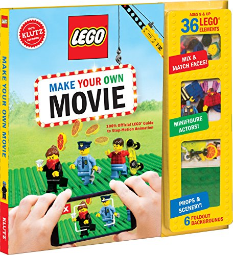 Klutz Lego Make Your Own Movie Craft Kit, Multicolor, 26.16 x 24.89 x 2.28 cm