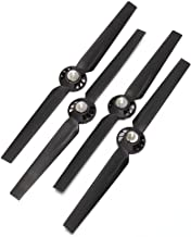 eoocvt 2 Pairs Propeller Rotor Blade Sets A and B for YUNEEC Typhoon G Q500 Q500+ Q500 4k RC Quadcopter Drone - Black