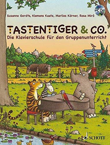 Tastentiger & Co.: Die Klavierschule für den Gruppenunterricht. Klavier. Schülerheft.