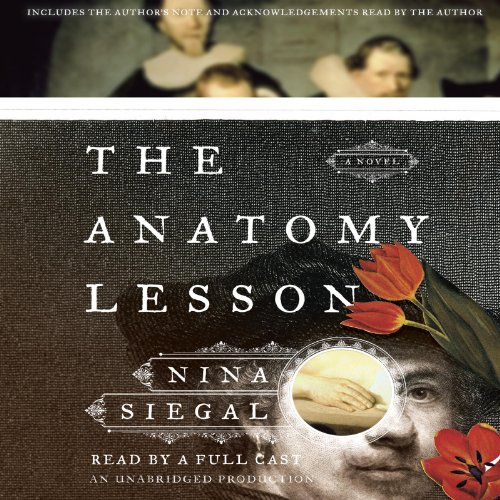 The Anatomy Lesson audiobook cover art