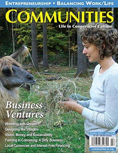 Communities Magazine #163 (Summer 2014) – Business Ventures in Community (English Edition)