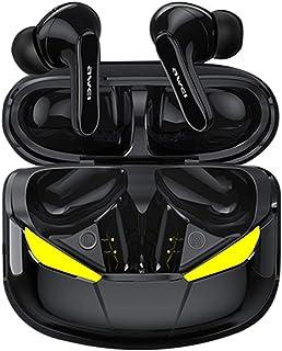 B Blesiya in-ear trådlösa öronsnäckor touch-kontroll hörlurar headset med laddningsfodral inbyggd mikrofon djup bas för sp...