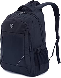 Travel Laptop Backpack, Business Slim Durable Laptops Backpack, Water Resistant College School Computer Bag for Women & Men Fits 15.6 Inch Laptop and Notebook - Black