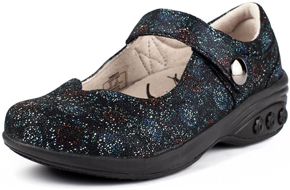Melissa Women's Slip Resistant Mary Jane Clog - Plantar Fasciitis/Foot Pain