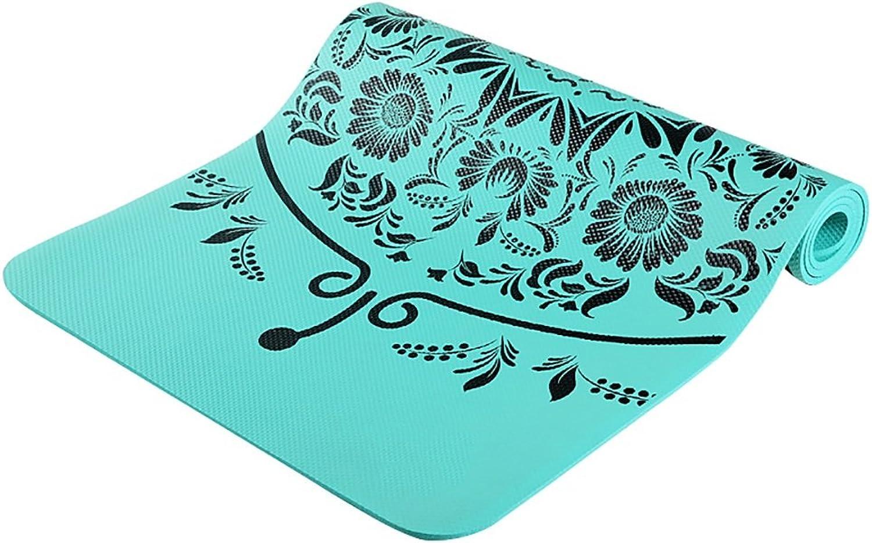 LiuJianQin YJD Yogamatte professionelle Rutschfeste Yoga-Decke Widen verdickte im Freieneignungs-übungsmatte Innentanz-übungsmatte   185  80CM (Farbe   C)