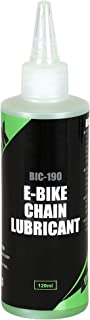 CyclingDeal Bike Bicycle Maintenance E-Bike Chain Lubricant 120ml /4oz Motorcycle Lube Silicone Grease Oil - Specially Des...