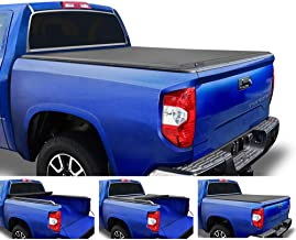 Tyger Auto T2 Low Profile Roll-Up Truck Tonneau Cover TG-BC2T2083 Works with 2007-2019 Toyota Tundra | Fleetside 6.5' Bed | for Models Without The Deckrail System