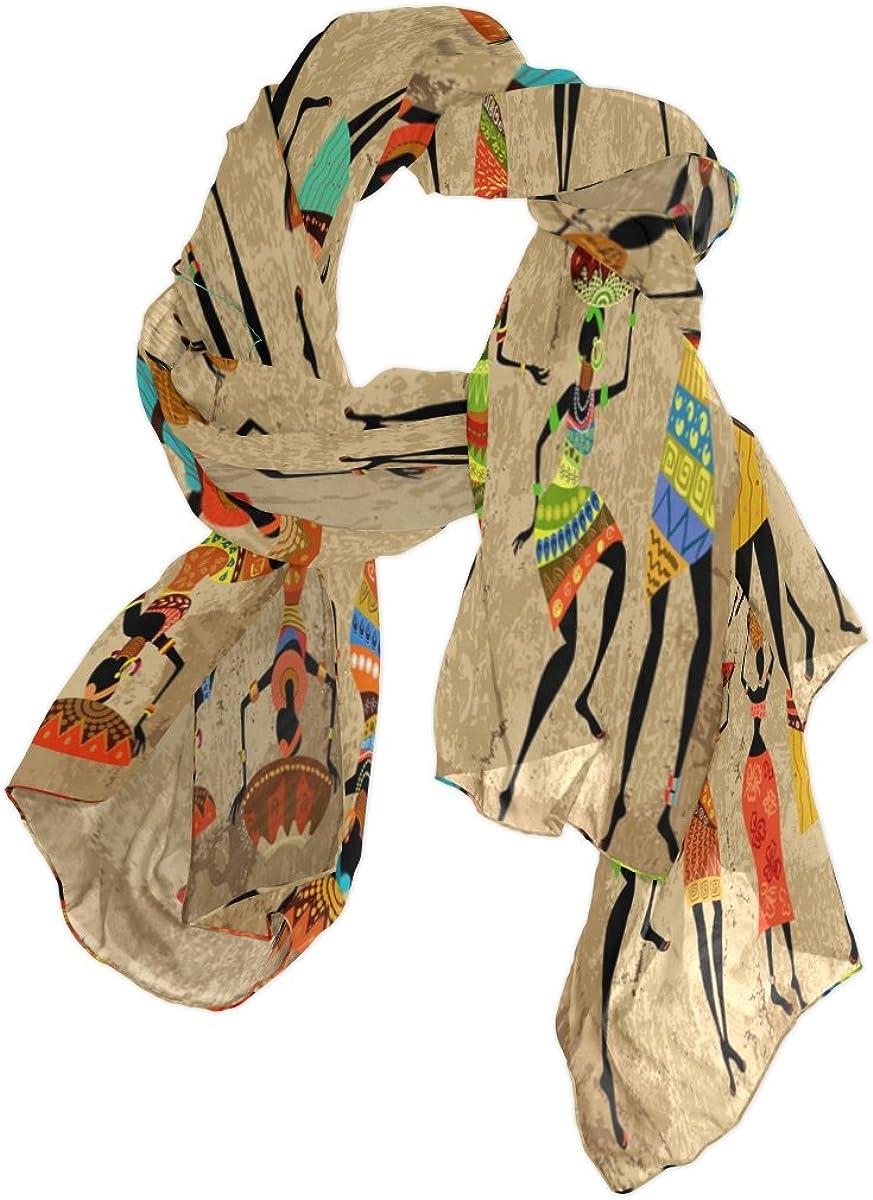Use4 Fashion Lightweight Watercolor Octopus Art Chiffon Silk Long Scarf Shawl Wrap