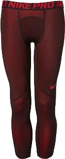 Nike Men's Three Quarter Colorburst Tights (University Red, XXL)