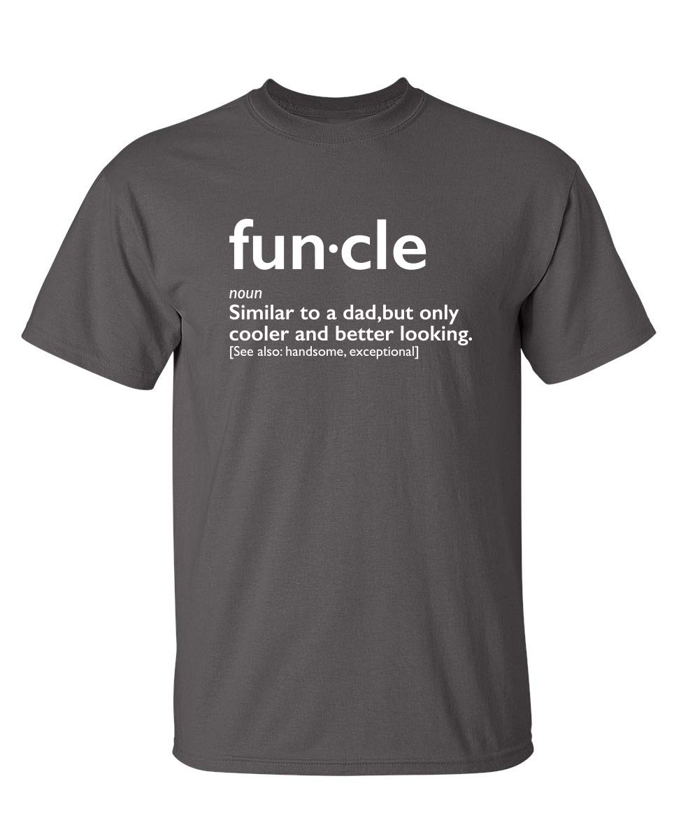 Funcle Novelty Graphic Sarcastic Charcoal