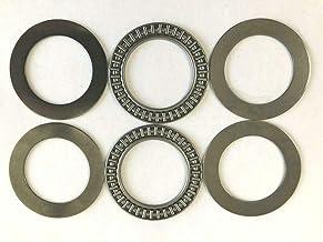 2 Pcs AXK3552 35 x 52 x 2 mm Thrust Needle Bearing with 4 Washers #BSSTM