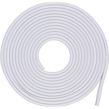 5M Protection Film Anti-Collision Door Sill Guard Fits for Most Car MeiBoAll Door Edge Guard Rubber Lip Edge Seal Protector Strip 16.4ft Clear//Black//White