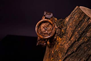 Wolves Wooden Watch FREE SHIPPING engraving and customization