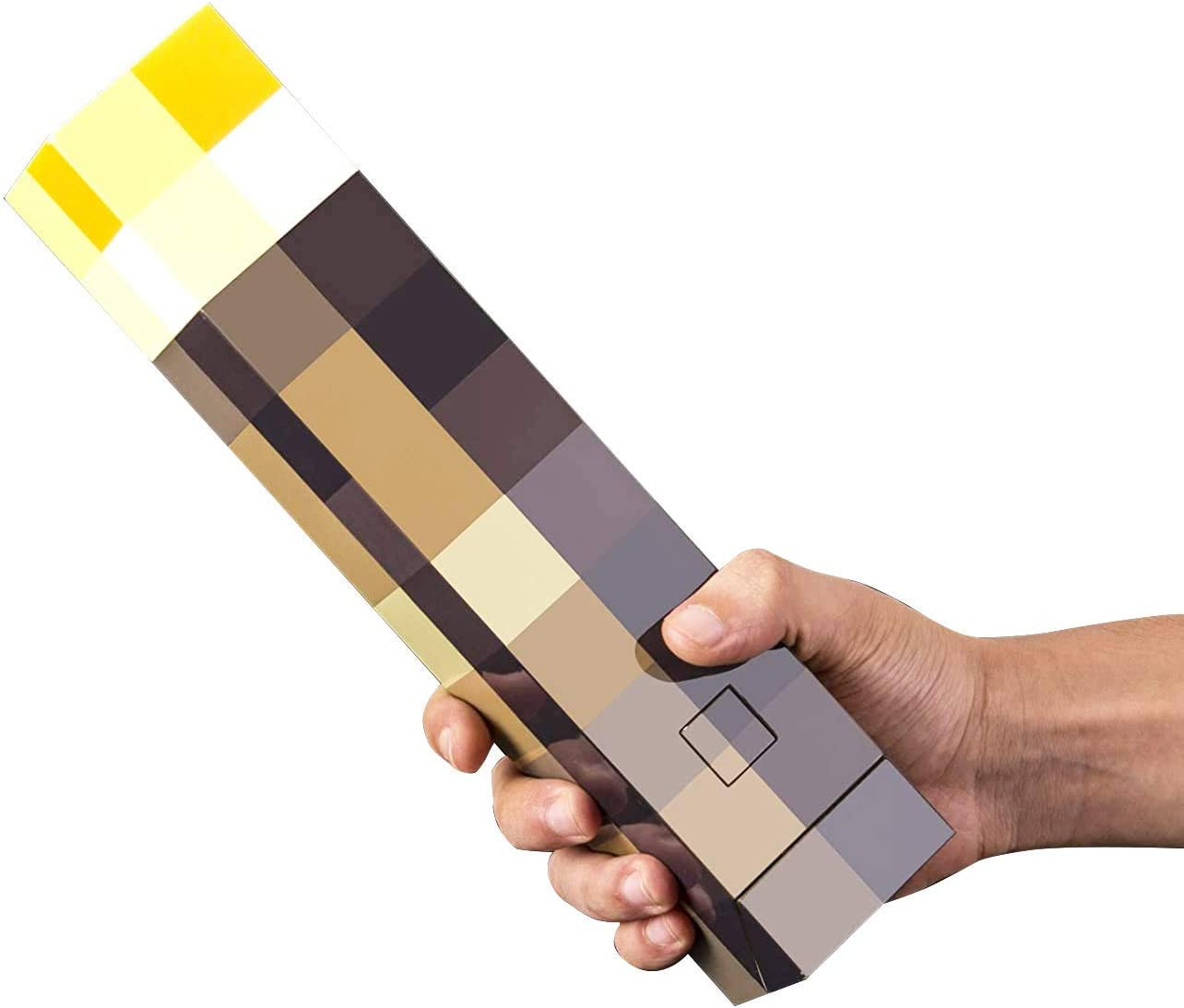 Oakland Mall MOOK Brownstone Pixels Light-up Wall Torch 25% OFF MCERS- for Mounts to