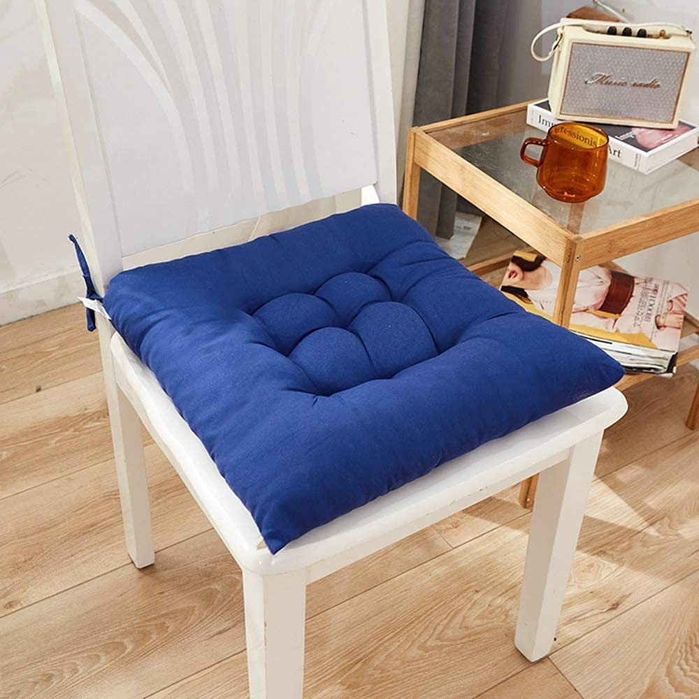Ghlevo Free shipping Solid Color Seattle Mall Chair Cushions Kitchen Washable Office Garden