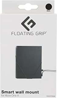 XBOX ONE X wall mount by FLOATING GRIP® - Package incl. mount for 1x Xbox One X console - Color: Black - Patent pending an...