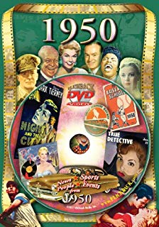 1950 Flickback DVD Greeting Card: Great for Birthday or Anniversary