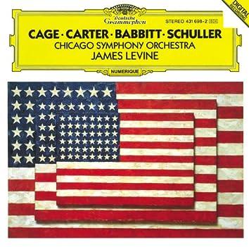 Carter: Variations for Orchestra / Babbitt: Correspondences / Schuller: Spectra for Orchestra / Cage: Atlas eclipticalis