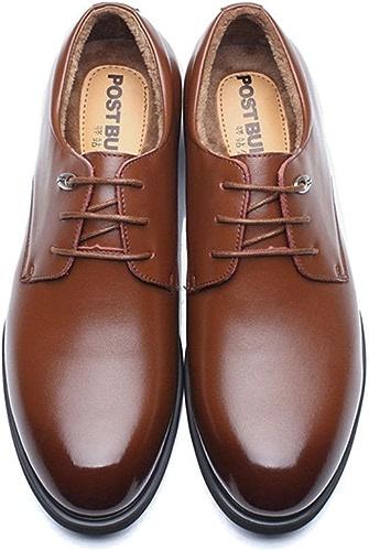 Une affaire d'hommes de chaussures en cuir, british creux, des chaussures en cuir,du cashmere marron,quarante - trois