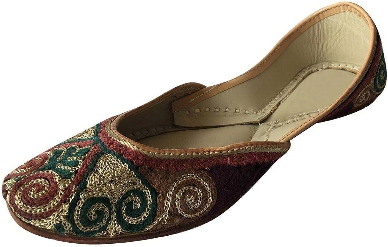 Step n Style Womens Khussa shoes Punjabi Juttis Handmade Indian Saree Kurti Footwear
