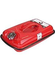 エマーソン 消防法適合ガソリン携行缶 5L EM-126 伸縮式ノズル付 鋼板厚0.8mm EMERSON EM126