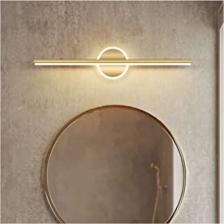 Simple 41/61/81cm Mirror Front Lights, Modern Golden Hotel Bathroom Creative Personality Luxury Atmosphere Nordic Dressing...