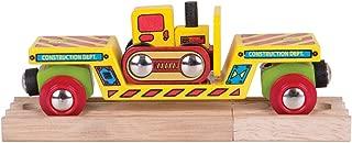 Bigjigs Rail BJT415 Bulldozer Low Loader