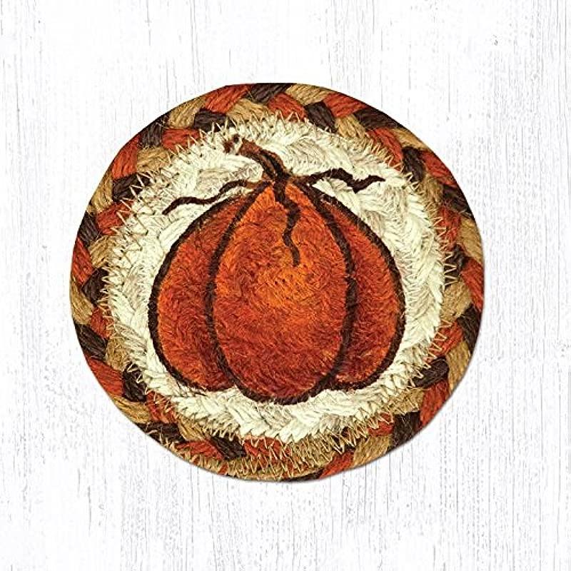 CS 222 Harvest Pumpkin 5 Round Coaster Set Of 8