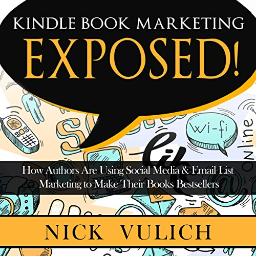 Kindle Book Marketing Exposed audiobook cover art