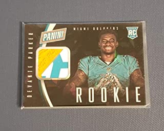 MultiSport MultiSport 2015 Panini National Convention Rookie Gloves Cracked Ice #6 DeVante Parker NM Near Mint Jersey /25 Dolphins