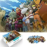 Mini 1000 Pcs Jigsaw Puzzle Games for Adults and Children Naruto Anime Naruto Paper Puzzle