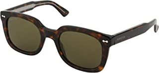 غوتشي نظارة شمسية للجنسين اخضر ، GG0181S