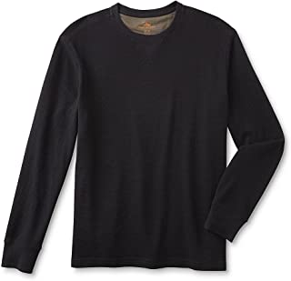 Northwest Territory Men's Thermal Shirt. Long Sleeve. Size XL. Color: Black Onyx