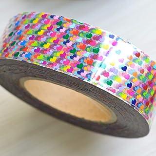 MEIYY Pegatina De Uñas 500 M Nuevo 49 Diseños 1 Rollo Brillo Láser Completo Consejos Pegatina Nail Art Transfer Foils Adhesivo Diy Decoración Ventas Al Por Mayor